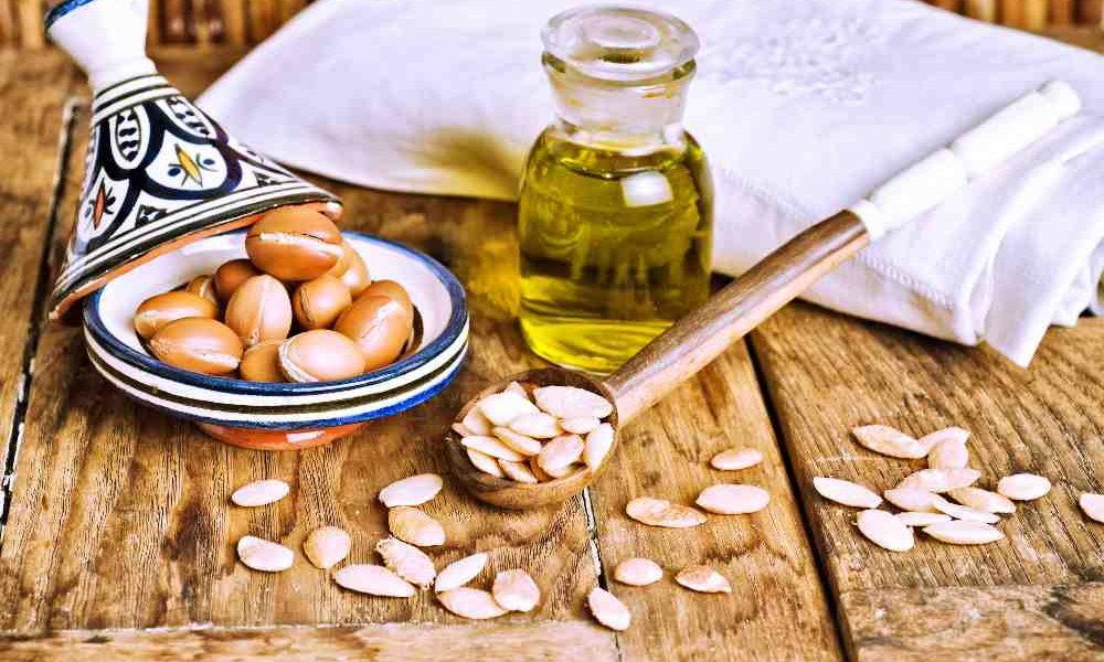 semi ed olio di argan