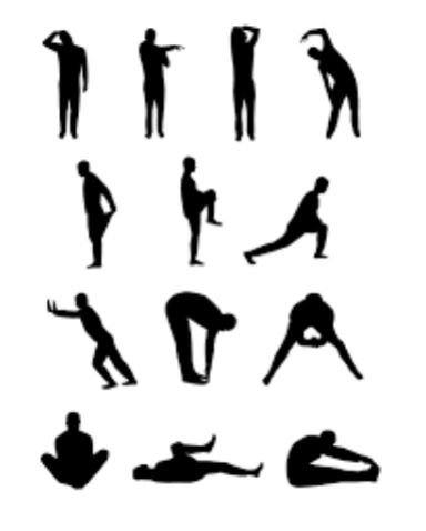 stretching atteggiamenti posturali