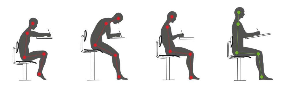 postura schiena