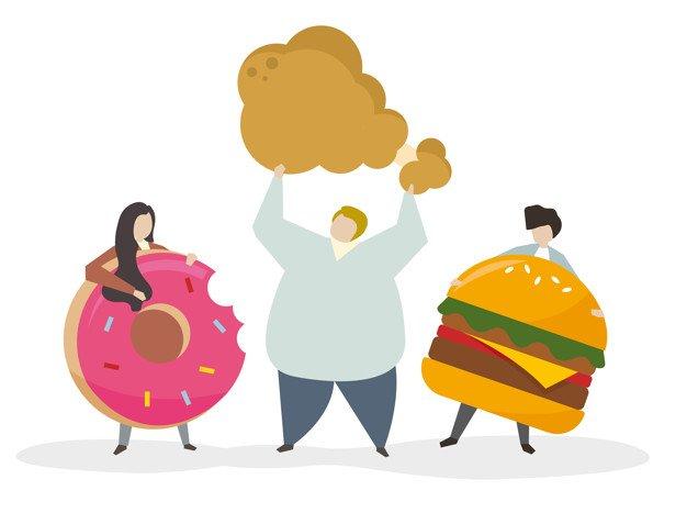 colesterolo cibo spazzatura